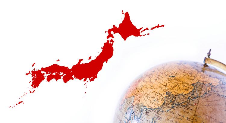世界と日本地図