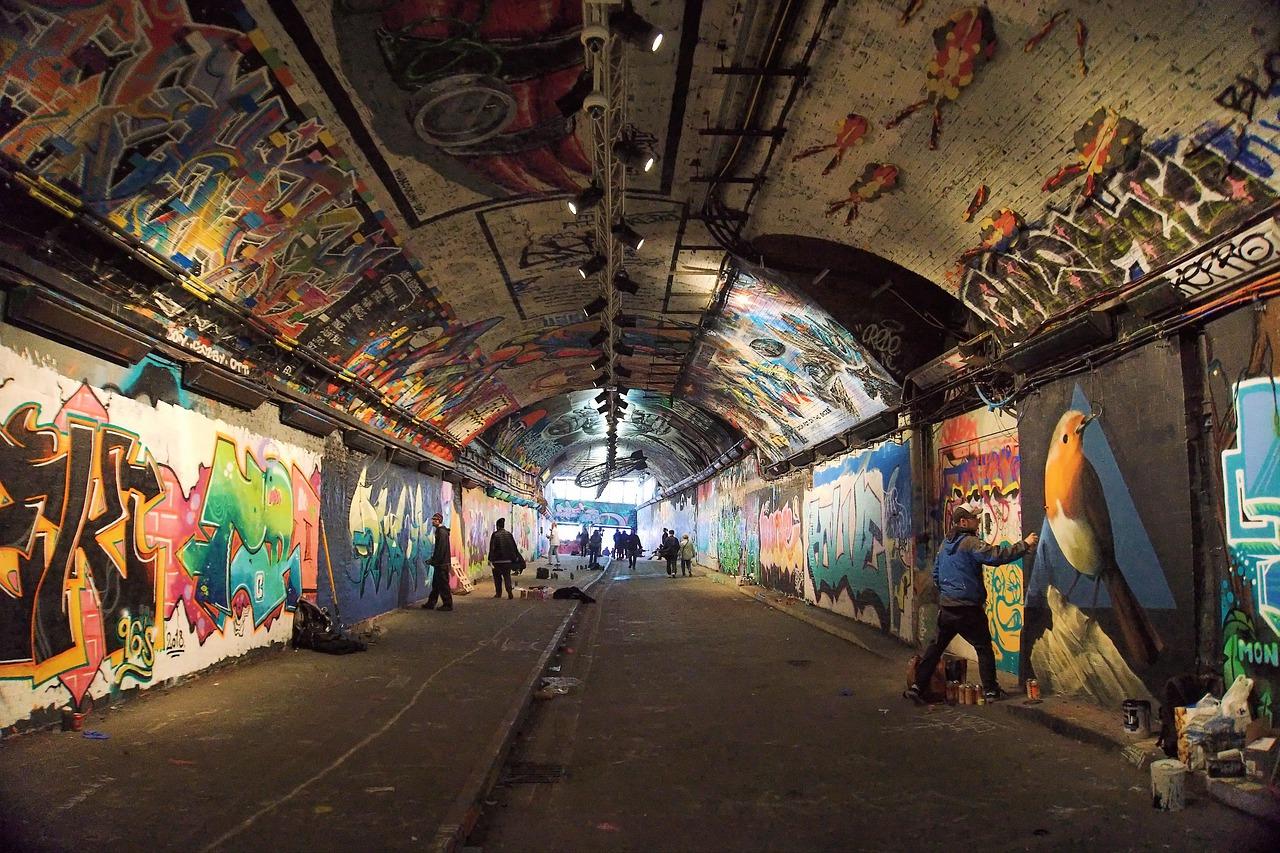ロンドンのトンネル